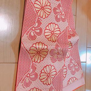 着物 帯 半幅帯 織り 着付け 浴衣 和装(帯)