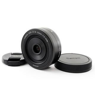 キヤノン(Canon)の★一眼ならではのボケ感★キャノン EF-M 22mm STM ブラック(レンズ(ズーム))