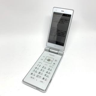 シャープ(SHARP)の【極美品】au SHARP AQUOS K SHF31(携帯電話本体)