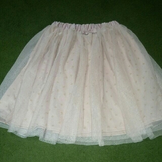 サンカンシオン(3can4on)のチュールスカート 130(スカート)