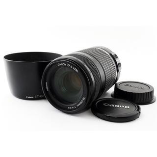 キヤノン(Canon)の★レンズフード付き★キャノン EF-S 55-250mm IS 手振れ補正(レンズ(ズーム))