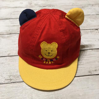 mikihouse - ミキハウス 帽子 48  耳付き