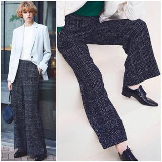セオリー(theory)のTheory Sparkle Tweed Clean Wide Leg Pant(カジュアルパンツ)