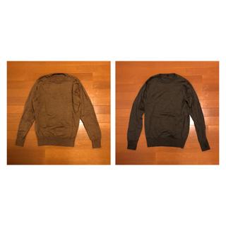 ムジルシリョウヒン(MUJI (無印良品))の【トキ様】丸首セーター セット - 無印良品(ニット/セーター)