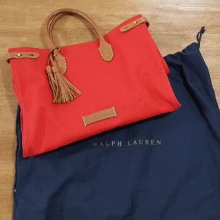 Ralph Lauren - RALPH LAUREN 鞄 レッド