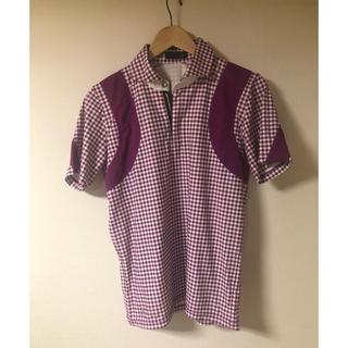 ニジュウサンク(23区)の未使用23区スポーツ☆ポロシャツ ゴルフウェアL(ポロシャツ)