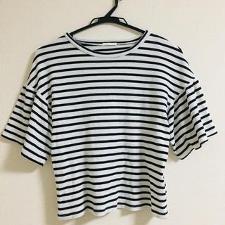 ジーユー(GU)のGU ボーダーカットソー Tシャツ(Tシャツ/カットソー(半袖/袖なし))