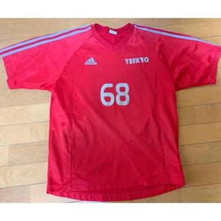 アディダス(adidas)の名門帝京第三高校サッカーユニフォーム。(サッカー)