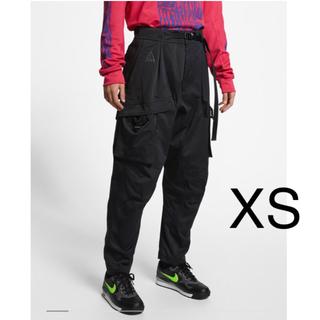 ナイキ(NIKE)のNIKE ACG Cargo Pant 黒 XS メンズ カーゴパンツ ブラック(ワークパンツ/カーゴパンツ)