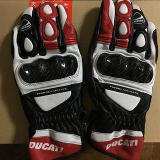 ドゥカティ(Ducati)のDucati    ファブリックレザーグローブ(手袋)