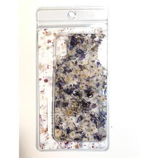 アンリアレイジ(ANREALAGE)のアンリアレイジ  ドライフラワー iPhonex ケース(モバイルケース/カバー)