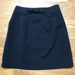 デビュードフィオレ(Debut de Fiore)のデビュードフィオレ♡スカート ブラック(ひざ丈スカート)