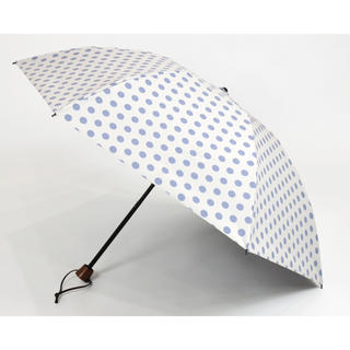 サンバリア100.折りたたみ日傘 3段折 水玉(傘)