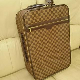 ルイヴィトン(LOUIS VUITTON)の本物‼️LOUISVUITTON ぺガス55 キャリーバッグ スーツケース(トラベルバッグ/スーツケース)