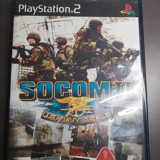 プレイステーション2(PlayStation2)のPS2  SOCOM Ⅱ :U.S. NAVY SEALs(家庭用ゲームソフト)