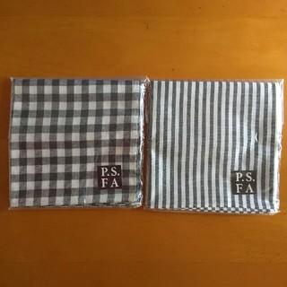 P.S.FA  ハンカチ2枚セット(ハンカチ/ポケットチーフ)