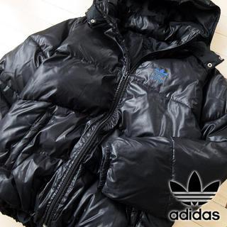 アディダス(adidas)の超美品 Mサイズ アディダス 90's 中綿ジャケット ブラック(ブルゾン)