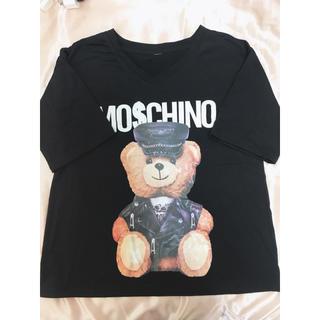 MOSCHINO - 【新品未使用】モスキーノ風 Tシャツ