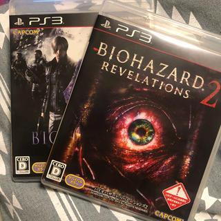 プレイステーション3(PlayStation3)のバイオハザードリベレーションズ2 、バイオハザード6 セット(家庭用ゲームソフト)
