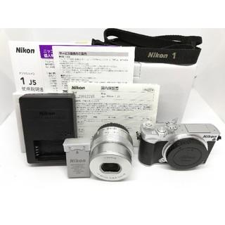 ニコン(Nikon)の⭐⭕人気の一眼⭕⭐ ニコン最小ミラーレス Nikon1 J5ズームレンズキット(ミラーレス一眼)