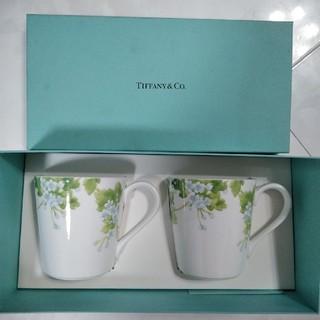 ティファニー(Tiffany & Co.)の専用です 新品未使用 ティファニー マグカップ リーフ(マグカップ)