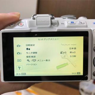 オリンパス(OLYMPUS)のカメラ 確認用(ミラーレス一眼)