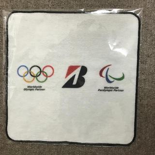 ブリヂストン(BRIDGESTONE)のBRIDGESTONE 東京オリンピック限定 ハンドタオル(ハンカチ)
