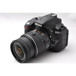 ニコン(Nikon)の❤️簡単自撮り♪WiFi機能内蔵❤️ニコン D5300 レンズキット❤️(デジタル一眼)