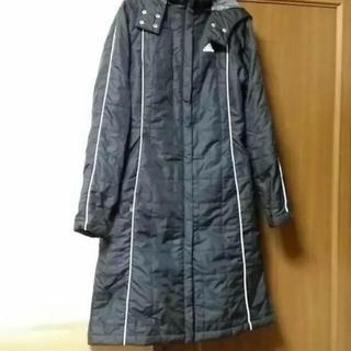 アディダス(adidas)の美品❗️アディダス 中綿コート ベンチコート(コート)
