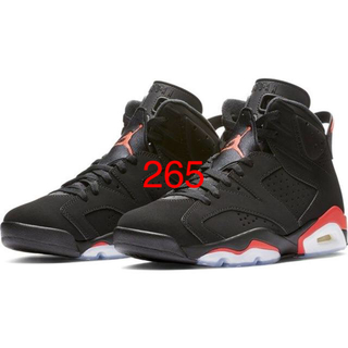 NIKE - 265 AIR JORDAN 6 RETRO OG INFRARED