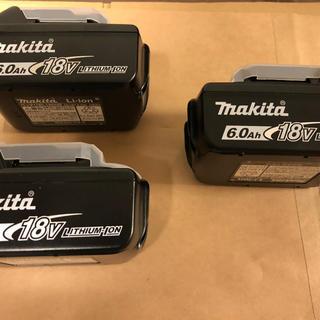 マキタ(Makita)のマキタ リチウムイオン BL1860B 3個(工具/メンテナンス)
