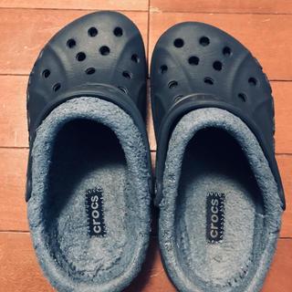 クロックス(crocs)のクロックス 冬用 ジュニアサイズ(サンダル)