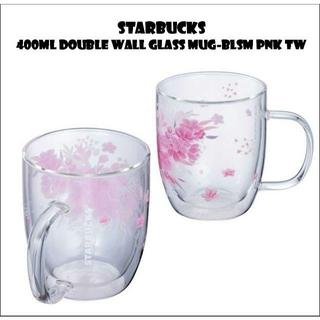 Starbucks Coffee - スターバックス さくら ダブルウォールグラスマグ 400ml🌸