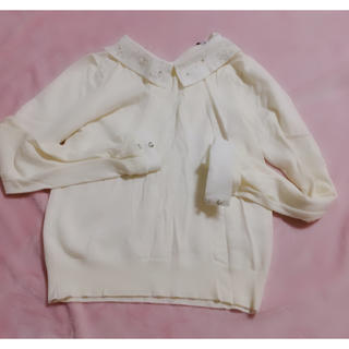 リランドチュール(Rirandture)のリランドチュール 襟付き ニット 春(ニット/セーター)