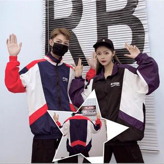 韓国 ナイロン ジャケット  2色 オルチャン ストリート a1982320(ナイロンジャケット)
