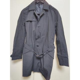 カスタムカルチャー(CUSTOM CULTURE)のコート メンズ ブラック サイズ48 CUSTOM CULTURE(トレンチコート)