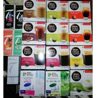 ネスレ(Nestle)のドルチェグストカプセルセットCセット(コーヒー)