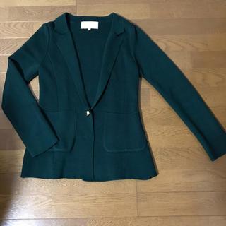 プロポーション(PROPORTION)のPROPORTION プロポーション ジャケット カーキ 深緑 Mサイズ(テーラードジャケット)