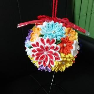 つまみ細工ボールブーケ(ブーケ)