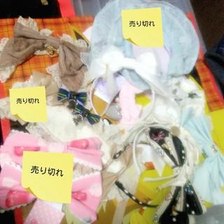 Angelic Pretty - アンプリ♡BABY♡アリパイ♡頭物カチューシャヘッドドレスバレッタまとめセット