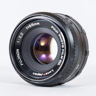 フジフイルム(富士フイルム)のフジノン FUJINON 55mm f2.2 バブルボケ 整備・清掃済み(レンズ(単焦点))