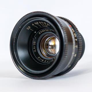 LEICA - ジュピター12 Jupiter-12 35mm f2.8 Lマウント 清掃済み