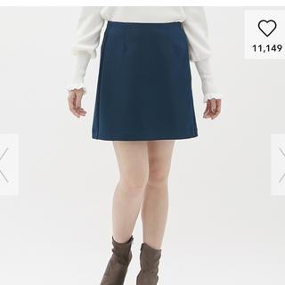 ジーユー(GU)のGUカラーミニスカート(ミニスカート)