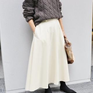 IENA - IENA ハード圧縮フレアスカート