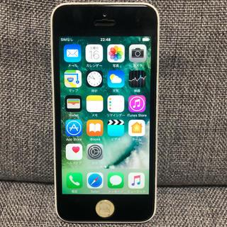 アップル(Apple)のiPhone5c 32GB 白 ホワイト 中古(スマートフォン本体)