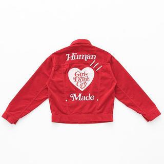 ジーディーシー(GDC)のVERDY × human made Work Jacket (Gジャン/デニムジャケット)