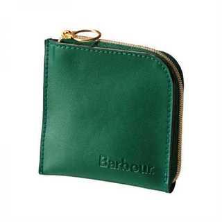 英国Barbour(バブアー) レザー製ミニ財布 コインケース(コインケース/小銭入れ)