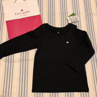 kate spade new york - 新品 ケイトスペード  キッズ ロングTシャツ 100 ガール