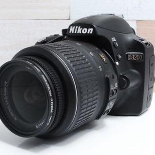ニコン(Nikon)の★美品★Nikon ニコン D3200 レンズキット ☆(デジタル一眼)