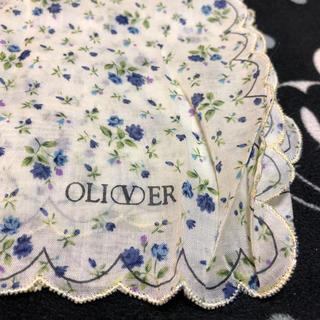 オリバーボーナス(Oliver Bonas)のオリバーOLIVER  カットレース  花柄ハンカチ (ハンカチ)